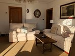 Vista sofás salon