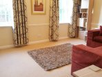 Spacious Lounge with freeview TV and DVD
