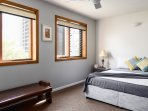 Cooling breezes with louvre windows