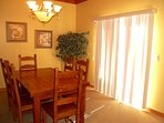 There is plenty of space in the dining room to plan your trip.