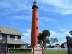 Nearby Ponce Inlet Lighthouse and Museum - climb to the top for great views!
