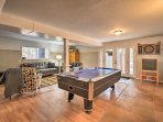 With a game room and 2 living rooms, this home is the perfect retreat for 10!