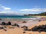 Walk for miles on the beautiful South Maui beaches