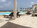 Nearby Fashion Beach with restaurant, bar, horizon swimming pool and exquisite sun loungers