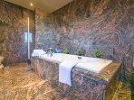 Bathtub and shower cabin