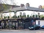 The historic Crown pub