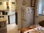 Dishwasher, ceramic hob, fan oven, blender, microwave, coffee maker, percolator and much more.