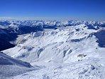 Huge ski area