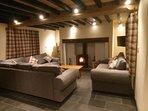 Living Room & Log Burner