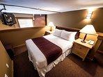 Get a good night's sleep in the cozy loft.