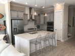 Gourmet Kitchen with open concept