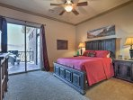 Enjoy restful slumbers in the master suite!