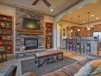 This upscale condo has all the comforts of home with the amenities of a resort!