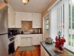 Full kitchen w\/ most appliances