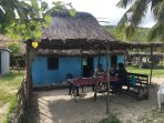 3 ocean front Bures (Fijian cabin) daily price per person includes 3 Fijian meals a day!