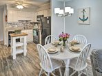 Clear the calendar for a bit of R&R at this vacation rental condo in Hilton Head Island!