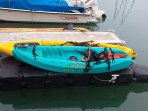 Two kayaks are provided, conveniently docked at the Dana Point Harbor!