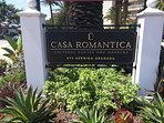 Casa Romantic is barely 300 feet away - be sure to visit!
