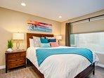 Second bedroom includes a queen bed.
