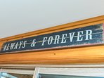 always and forever ~ a moto for your Muskoka get away!