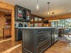 dreamy chef's kitchen