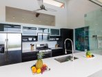 Fully Equipped Gourmet Kitchen Brings the Outdoors In!