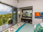 Master Suite 1 Stunning Ocean and Jungle View