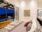 Master Suite 2 Opens to Jungle and Ocean Views