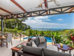 Outdoor Living Space Flow is Easy & Relaxed with Breathtaking Views