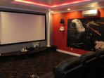 Movie Theater - 130' Screen - 7.1 Surround Sound - Star Wars Theme