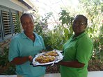 Brenda and Tina will prepare your meals and keep your rooms and house tidy, during your stay