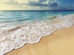 Cardiff Hall Beach and Runaway Bay beach are both a short walk from the villa