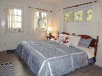 Master Bedroom with King (bridged extra long twins)