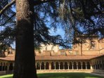 12th century Monastery of Moissac, right in the heart of the city, always worth a visit