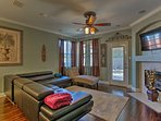 This spacious 1,723-square-foot property offers a beautifully remodeled interior with marble countertops, hardwood...