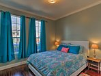 Get a great night's rest in the second bedroom.