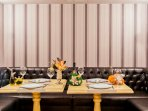 Don't Want to Cook for Yourself? - Come Dine with us in the Restaurant.