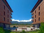 The Hotel with Stunning Views of the Pirin Mountains.