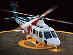 Heliport available in our villa
