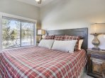 2nd bedroom suite with fantastic views.