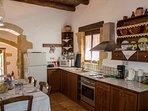 Kitchen +dining area