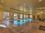 Enjoy access to both a community pool and hot tub.