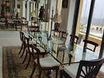 Formal dining room for intimate dinner or conferences. Private catering available.