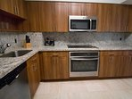 suites come with a fully applianced kitchen