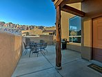 Sit on the patio and enjoy fabulous sunsets over the La Sal Mountains at this 3-bedroom, 2-bathroom Moab vacation...