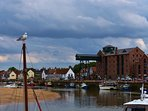 The harbour is a leisurely five minutes walk from the cottage.