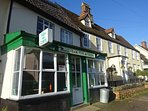 village fish and chip shop