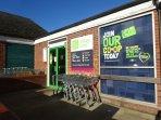 local co-op supermarket in village centre