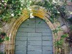 Original 16th century entrance to Martel