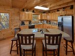kitchen (fully equipped with dinnerware/silverware for 18 persons)